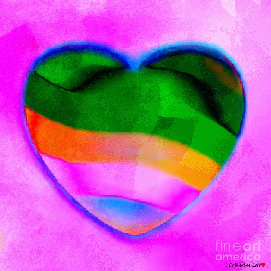 Heart In Soft Wet Paint by Catherine Lott