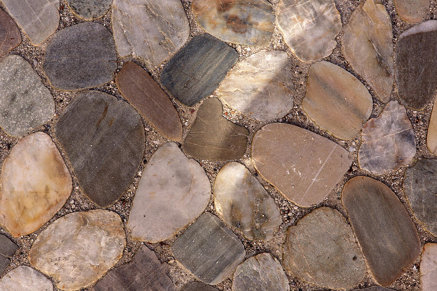 Heart Stone Photograph - Heart In Stone by Iris Richardson
