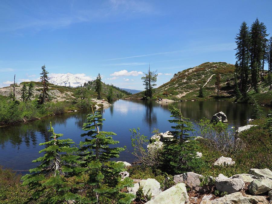 Heart Lake,    Shasta Trinity National Forest by Joe Schofield