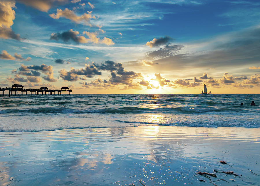 Clearwater Beach Photograph - Heart of Pinellas by John Halligan