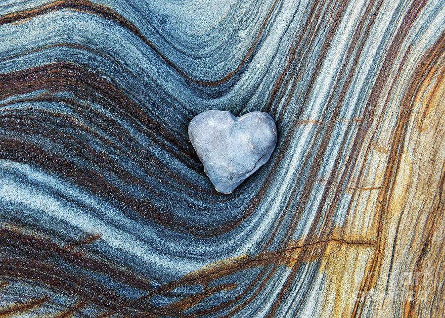 Heart stone by Tim Gainey
