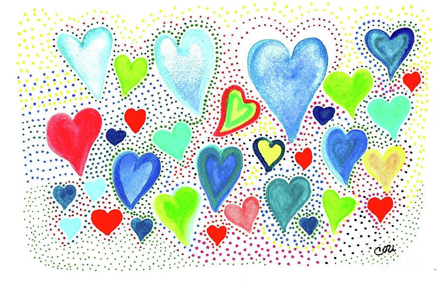 Hearts 1002 by Corinne Carroll