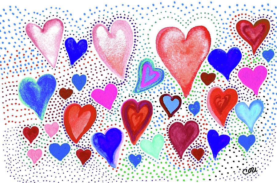 Hearts 1003 by Corinne Carroll