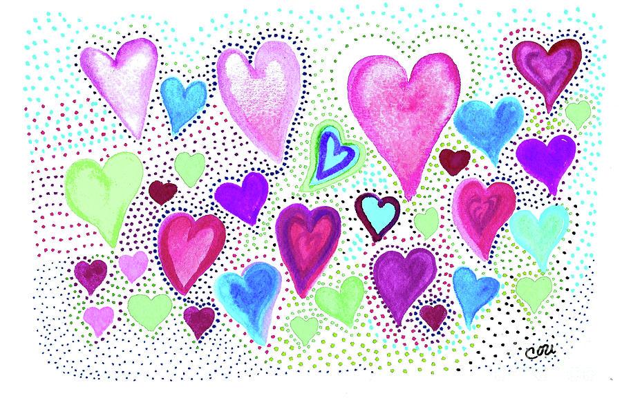 Hearts 1004 by Corinne Carroll