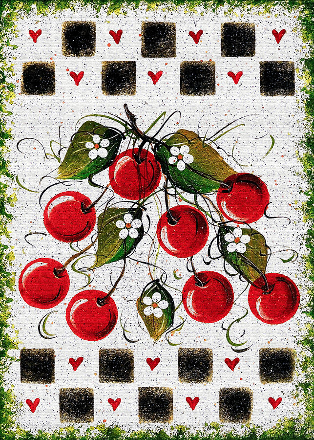 Hearts And Cherries by Natalie Holland