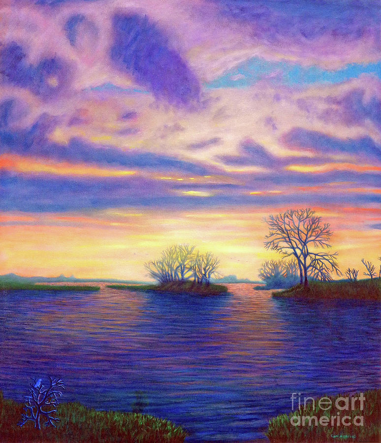 Landscape Painting - Hearts And Voices by Brian Commerford