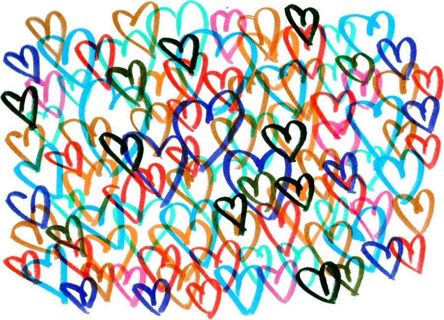 Hearts by Bee-Bee Deigner