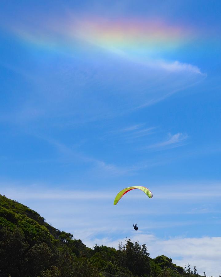 Heavenly Hang Glider by Sarah Lilja