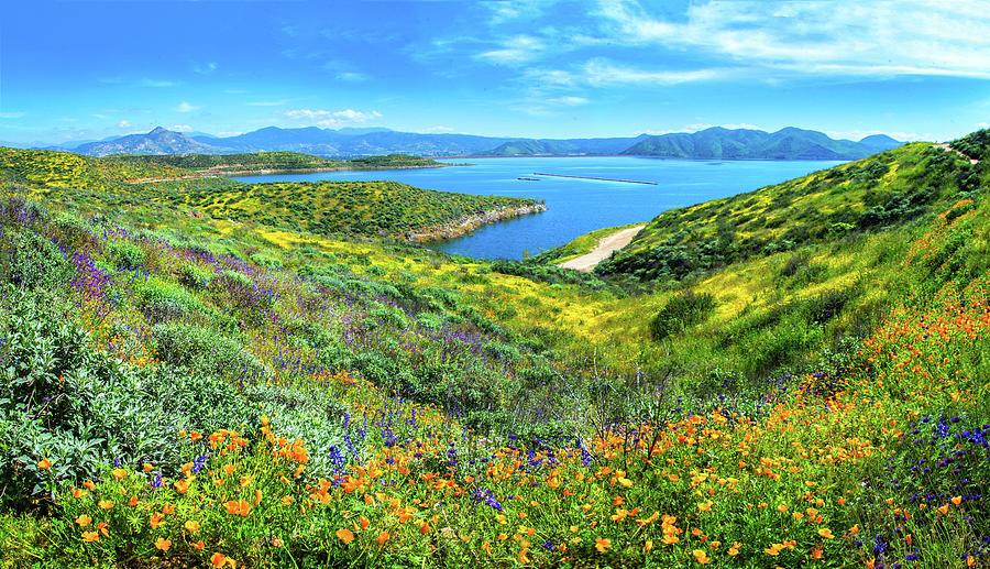 Heavenly Views at Diamond Valley Lake by Lynn Bauer