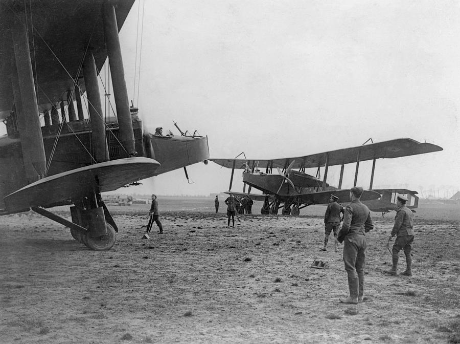 Heavy Bombers Photograph by Hulton Archive