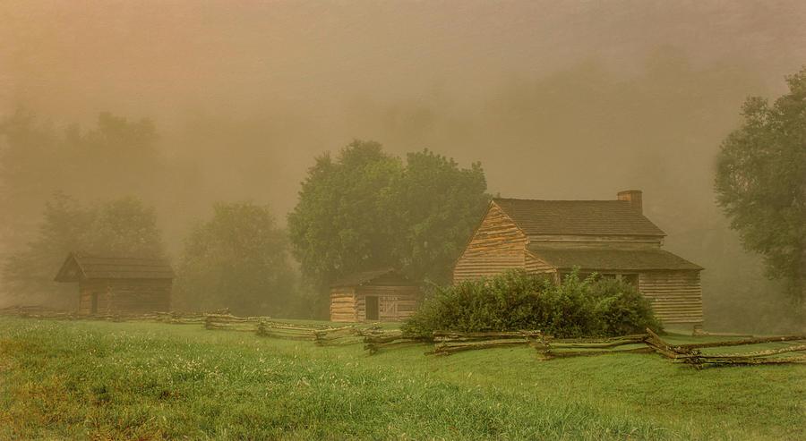 Heavy Fog at Dan Lawson's Place by Marcy Wielfaert