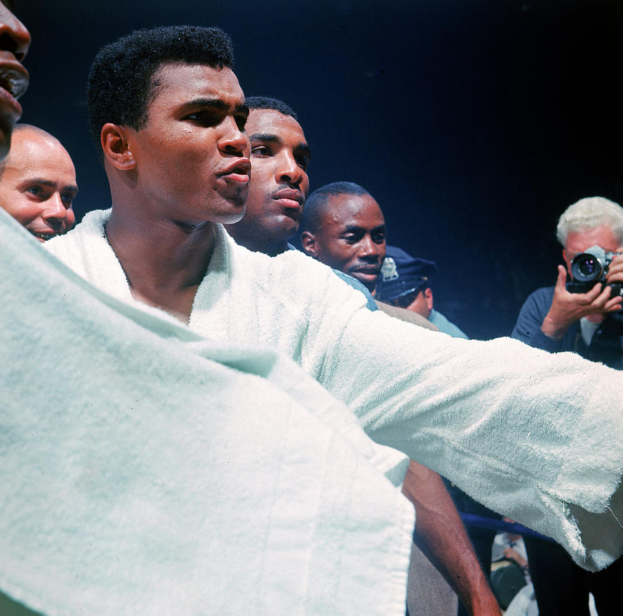 Heavyweight Boxer Cassius Clay Aka Photograph by John Dominis