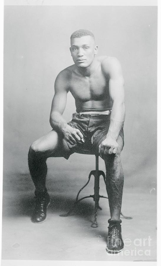 Heavyweight Champion James Tut Jackson Photograph by Bettmann