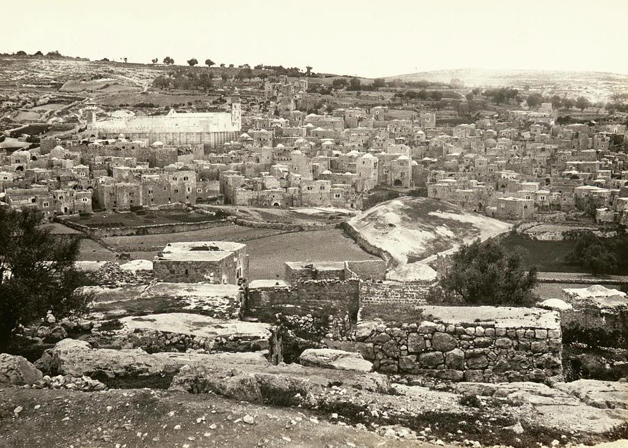 Hebron 1862 Photograph