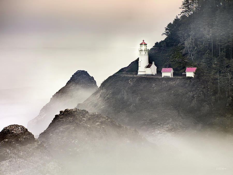 Heceta Head Lighthouse by Leland D Howard