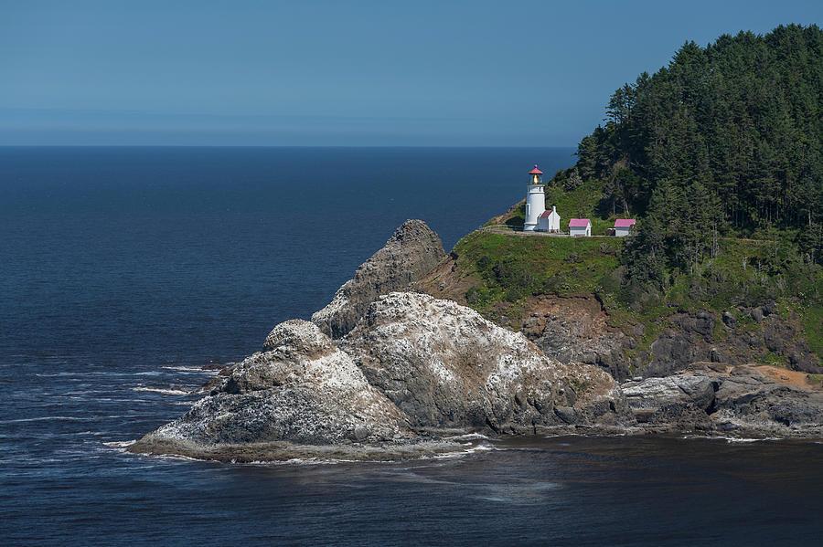 Heceta Head Lighthouse, Oregon Coast Photograph by Jeff Hunter