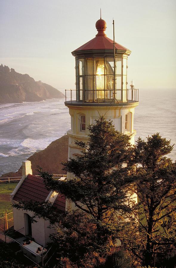 Heceta Head Lighthouse Photograph by Wbritten