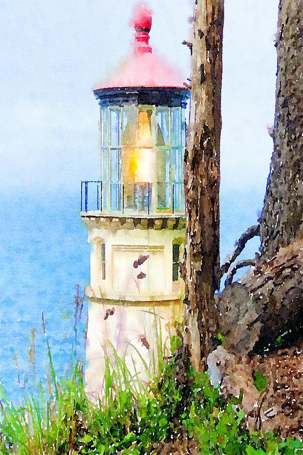Heceta Lighthouse by Bonnie Bruno