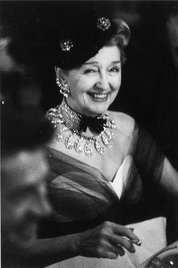 Hedda Hopper Photograph by Slim Aarons
