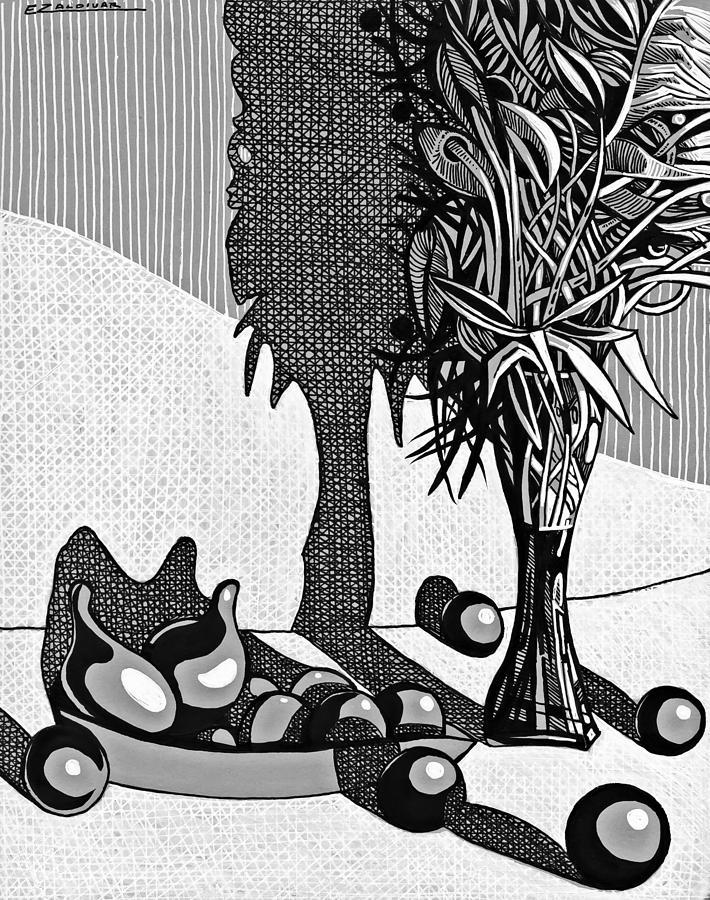 Hedonism and contemplation by Enrique Zaldivar
