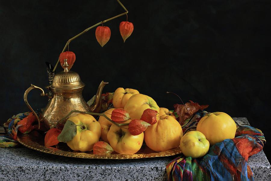 Heirloom Tomatoes In Plate Photograph by Panga Natalie Ukraine