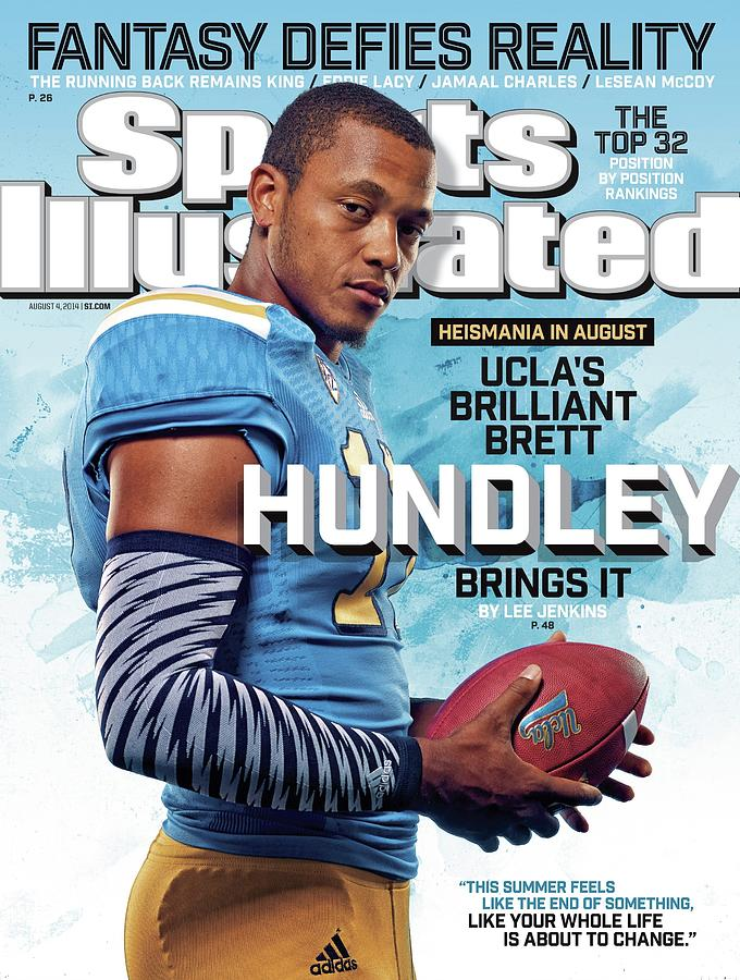 Heismania In August Uclas Brilliant Brett Hundley Brings It Sports Illustrated Cover Photograph by Sports Illustrated