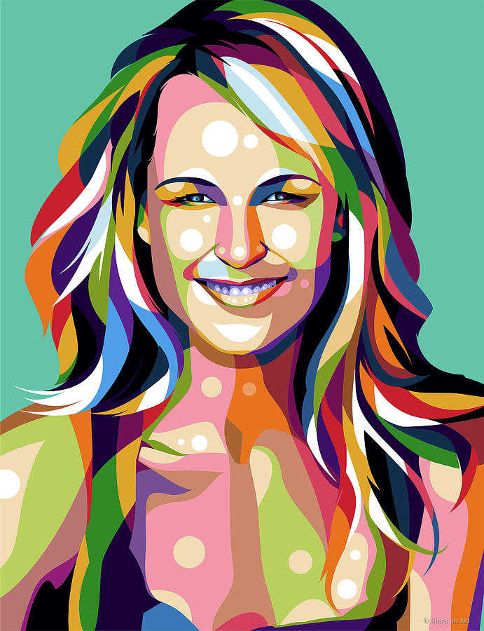 Helen Hunt Digital Art