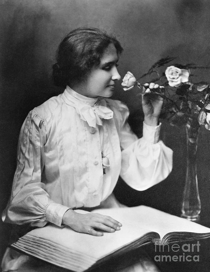 Helen Keller Photograph by Bettmann