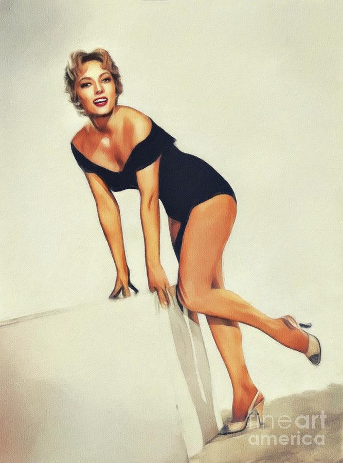 Helene Stanton, Vintage Actress by John Springfield