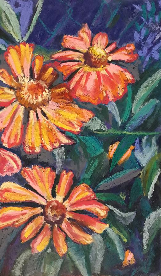 Heleniums by Jacqui Simpson