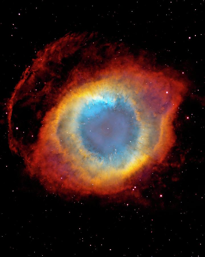 Helix Nebula Photograph by Design Pics