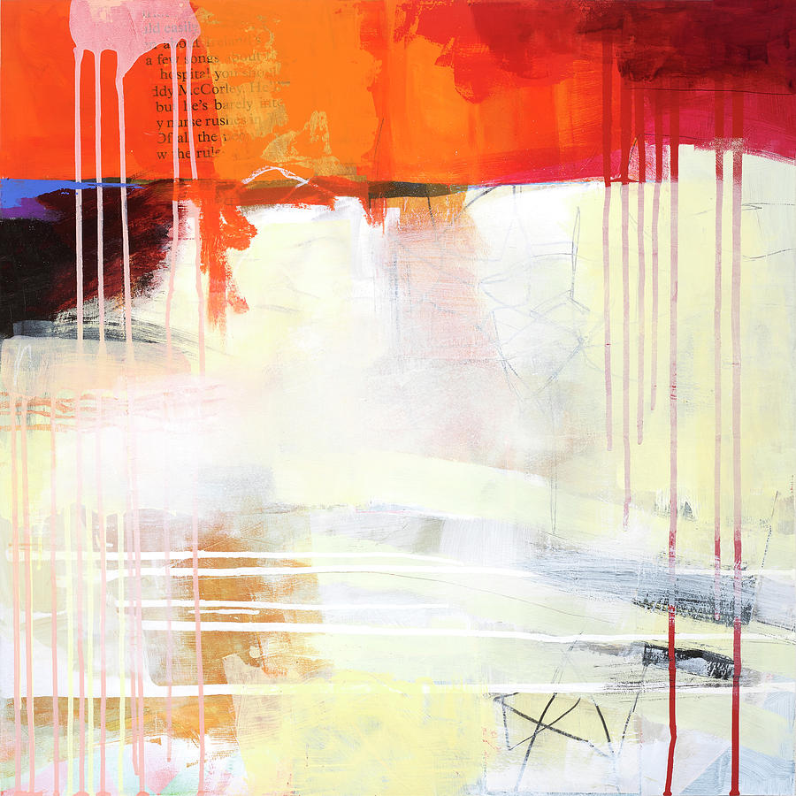 Pattern Painting - Hell Or High Water #3 by Jane Davies