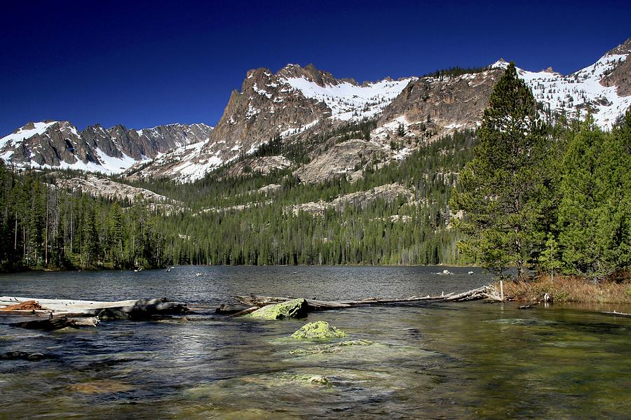 Hell Roaring Lake Sawtooth Wilderness by Ed  Riche