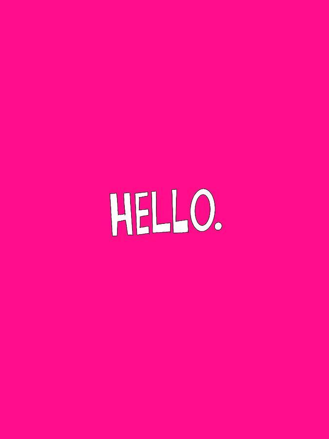 Hello by Deborah Carrie