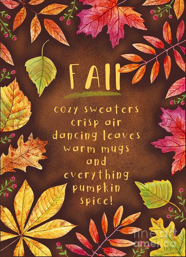 Hello Fall by Elizabeth Robinette Tyndall