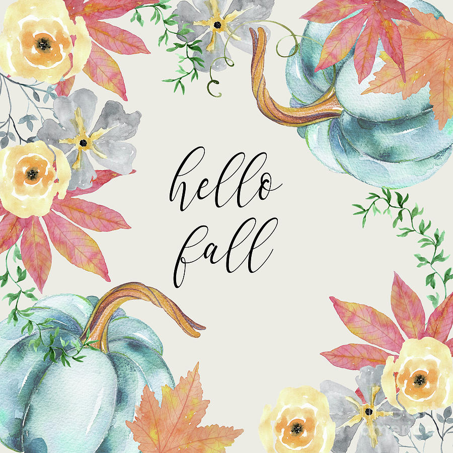 hello fall by Sylvia Cook