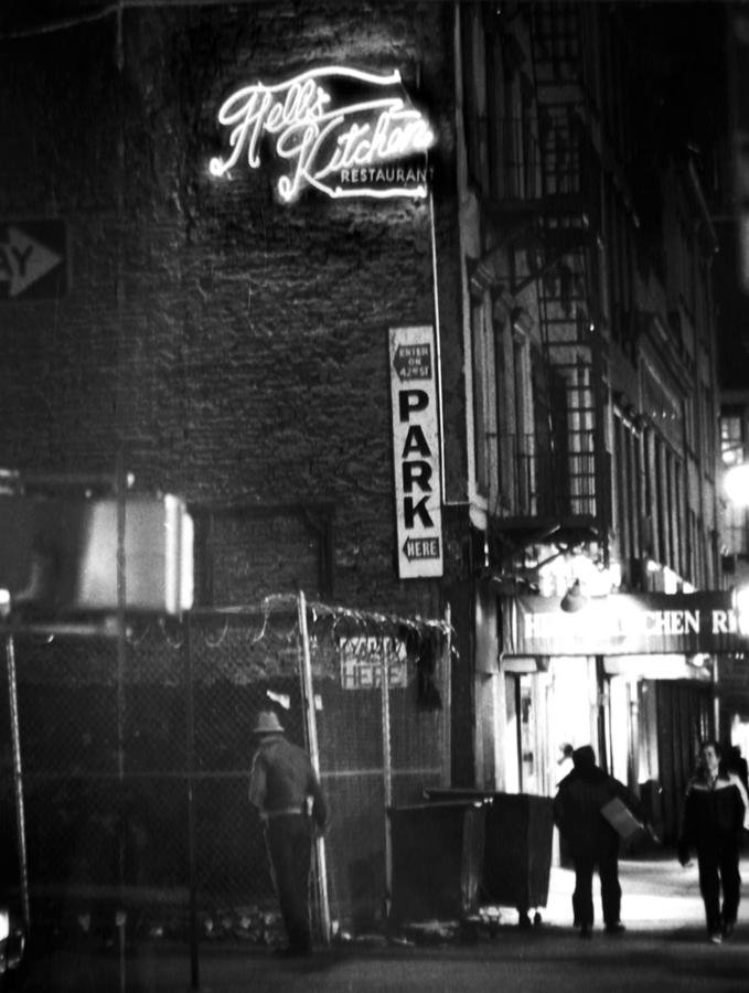 Hells Kitchen Restaurant On Ninth Photograph by New York Daily News Archive
