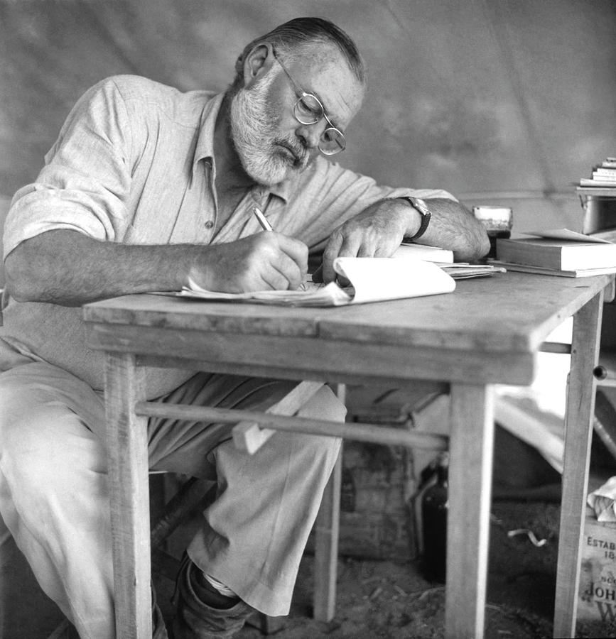 Hemingway On Safari Photograph by Earl Theisen Collection