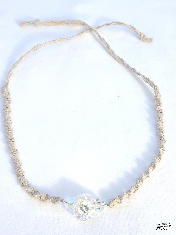 Hemp Necklace by Michelle  White