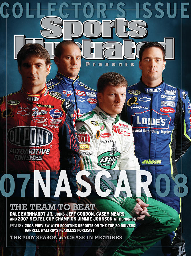 Hendrick Motorsports, 2008 Nascar Nextel Cup Series Preview Sports Illustrated Cover Photograph by Sports Illustrated