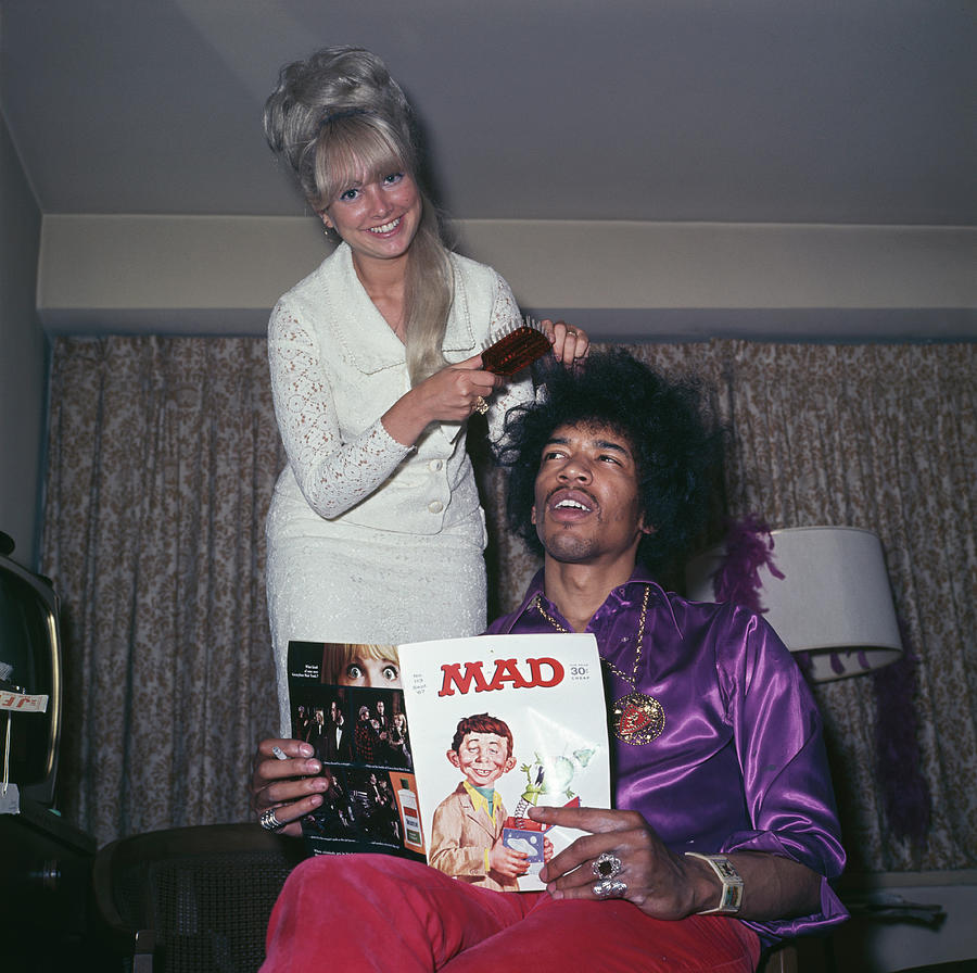 Hendrix Hair Photograph by Rolls Press/popperfoto
