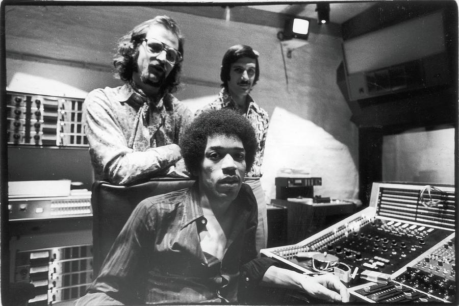 Hendrix, Kramer, & Marron At Electric Photograph by Fred W. McDarrah