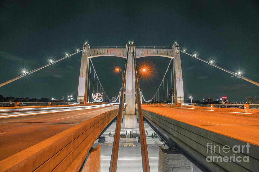 Hennepin Ave Bridge Photograph