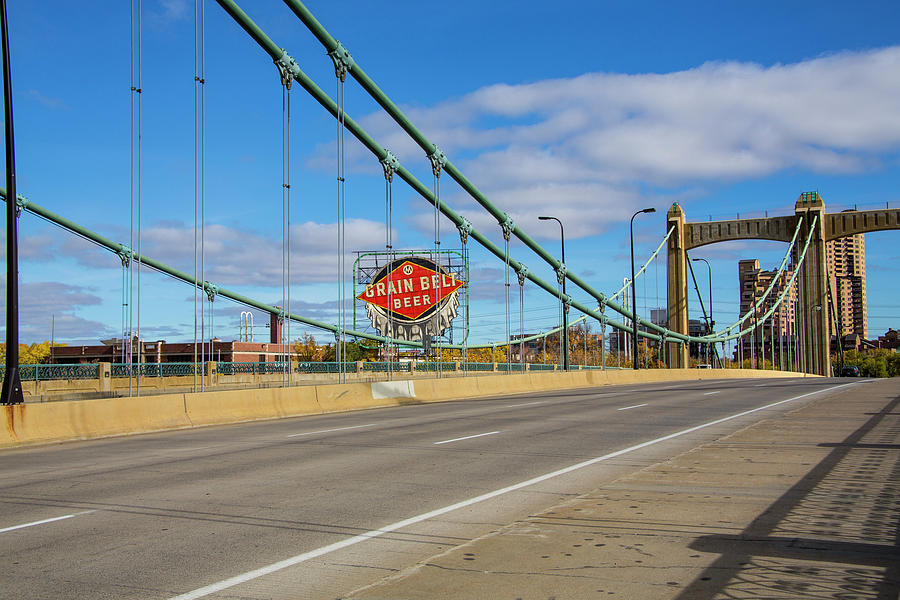 Hennepin Ave Bridge by Nancy Dunivin