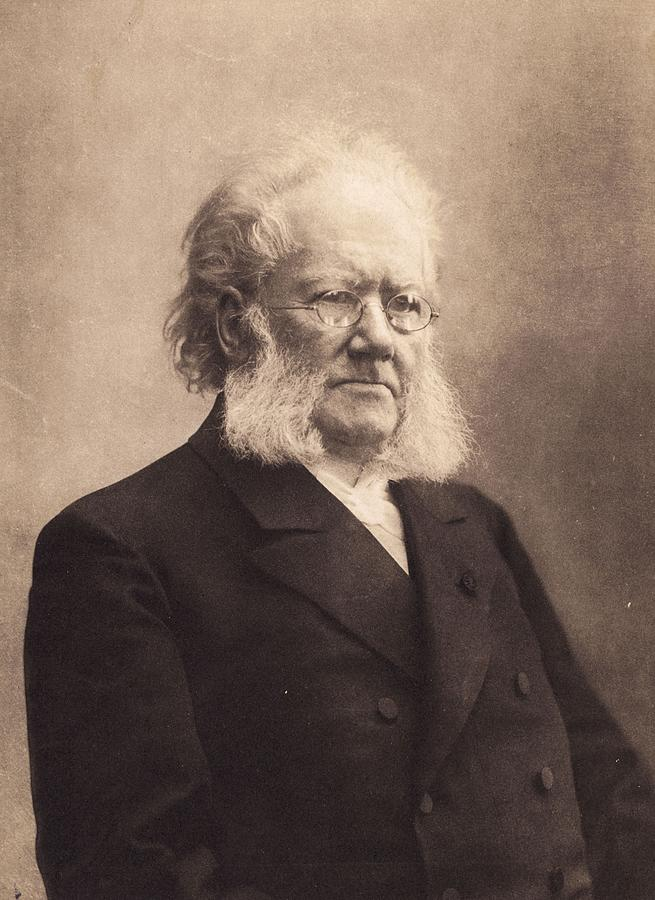 Henrik Ibsen Photograph by Hulton Archive