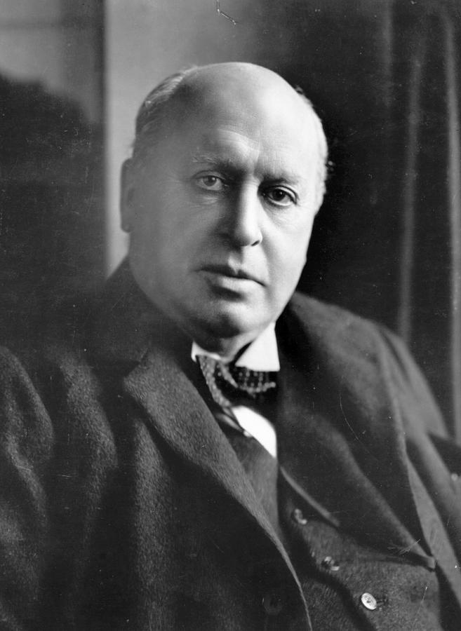 People Photograph - Henry James by Reginald Haines