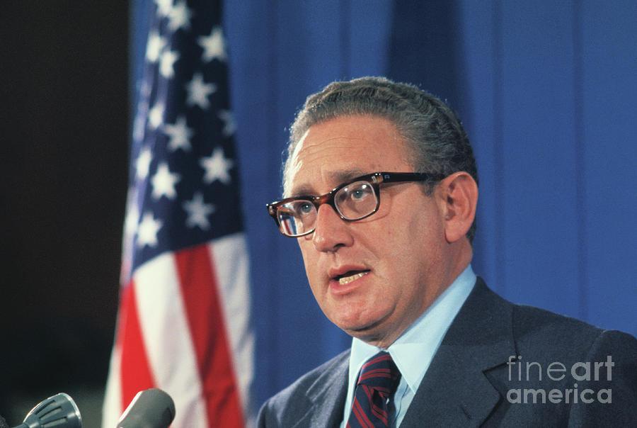 Henry Kissinger Photograph by Bettmann