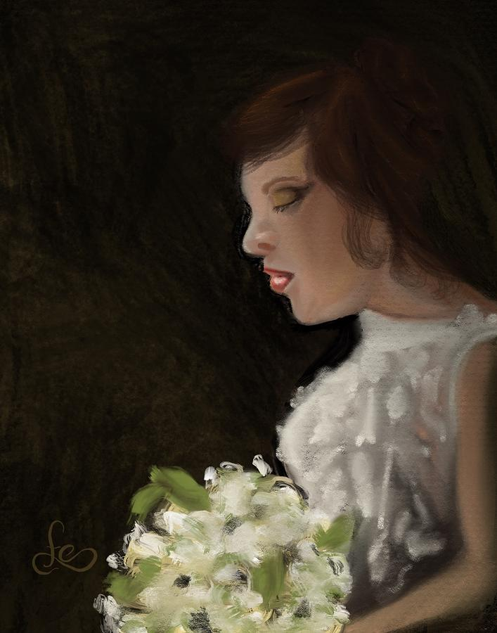 Her Big Day Painting by Fe Jones