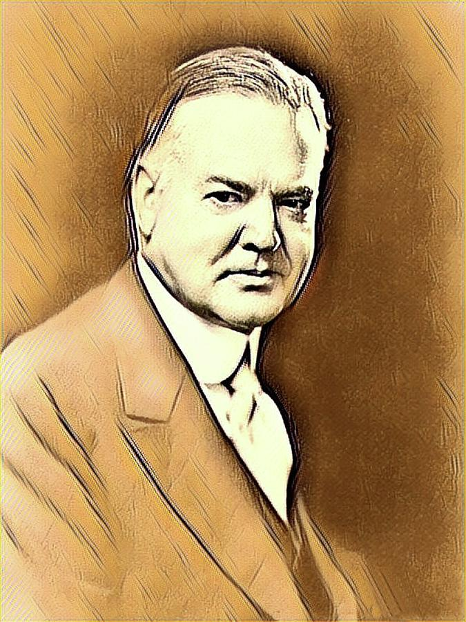 Herbert Hoover Mixed Media