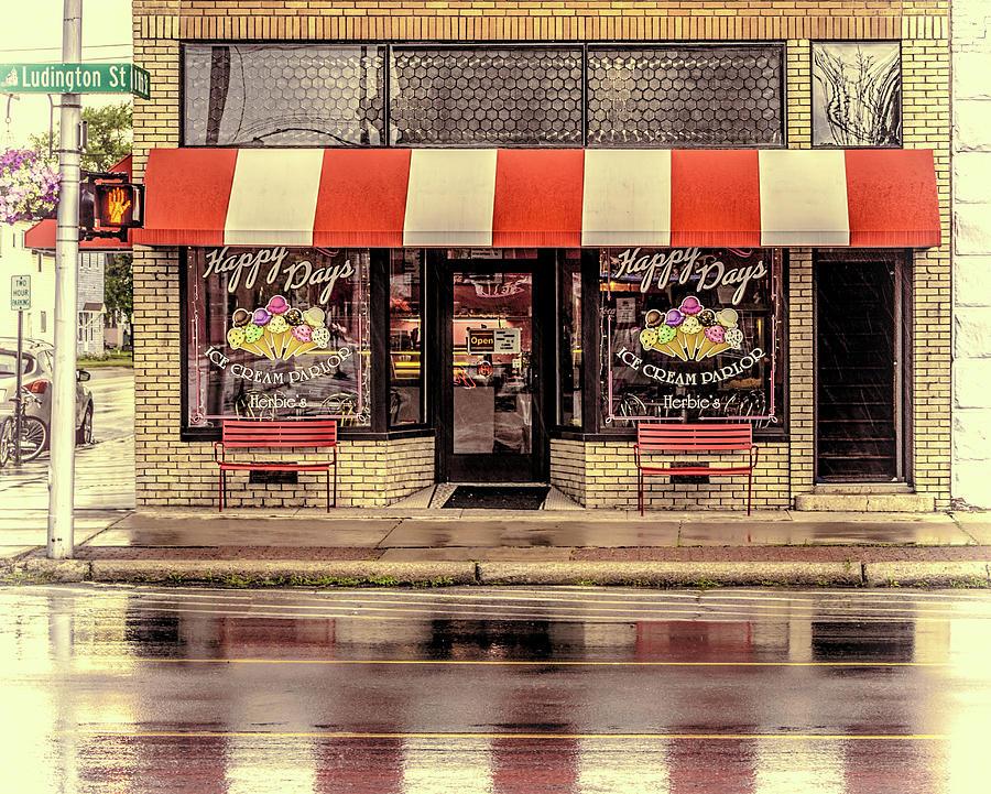 Herbie's Happy Days Ice Cream Parolor by Wes Iversen